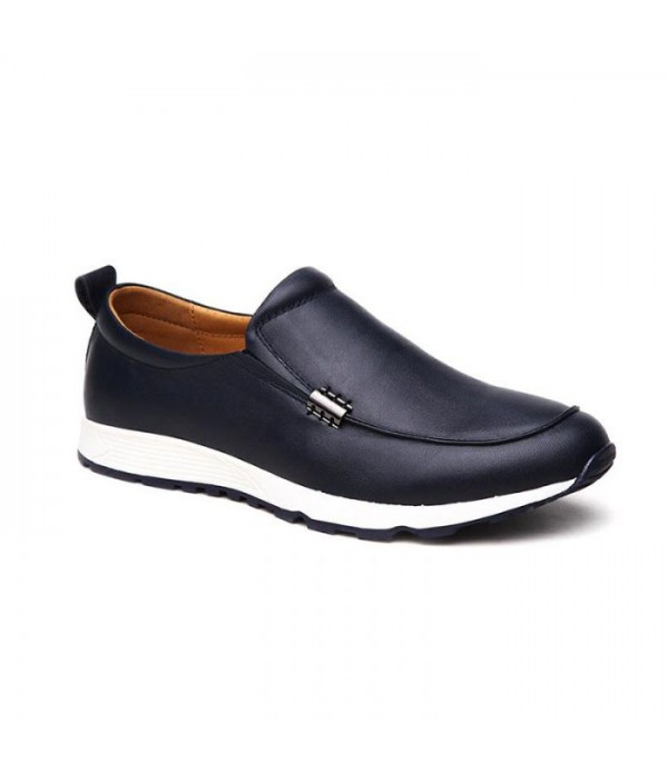 Men's casual shoes leather classic comfortable shoes
